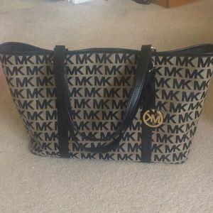 Large Michael Kors Purse/ Tote Bag